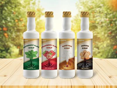 Syrup Package packagingdesign package packaging design packaging