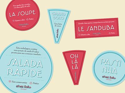 Chez Lalu labels vegan market lalu label french food epicerie chez brazil