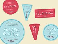 Chez Lalu labels