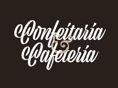 Confeitaria & Cafeteria bonjour cafeteria confeitaria candy coffee lettering