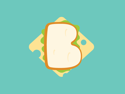B-sandwish burger food sandwish