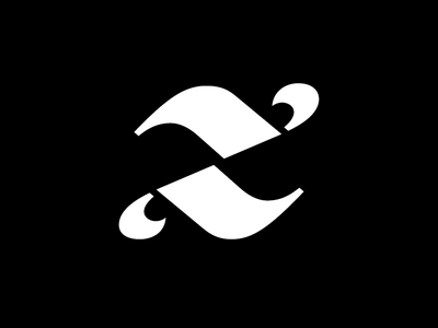Zuni typogaphy stencil italic magic custom font serif z logo type