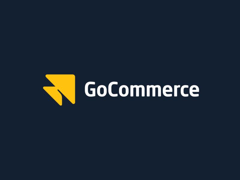GoCommerce type vector ui typedesign custom design branding typography lettering logo
