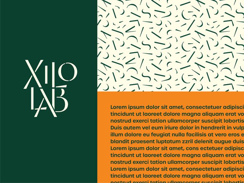 XiloLab & Pattern font custom woodcut brasil flor wood logotype typedesign typography design branding type lettering logo