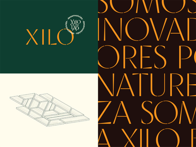 Xilo typography xilo brasil wood illustration lettering logotype design typedesign custom type logo branding