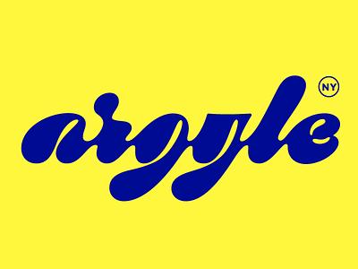 Argyle, NY smalltown argyle newyork upstateny type typography script cursive lettering hand lettering