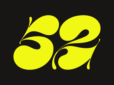 2018-Numerals WIP fontlab numbers type typedesign lettering numerals contrast chunkytype
