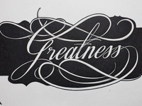 Greatness (Lettering)
