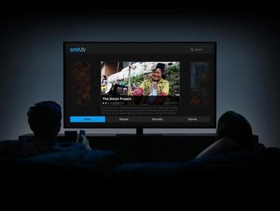 Fairfax TV UI