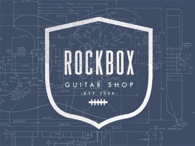Rockbox guitar shop strat logo fender