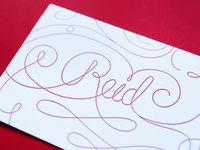 Reid Letterpress Stationery