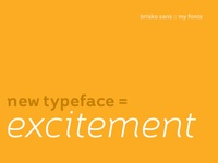 new year, new typeface