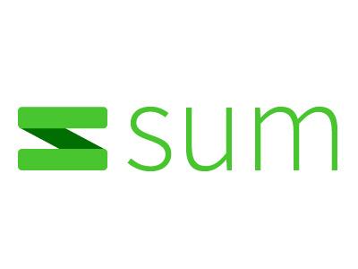 Sum Logo application branding logo