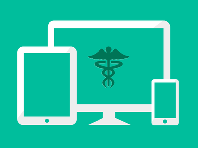 Mobile Healthcare application healthcare banners responsive