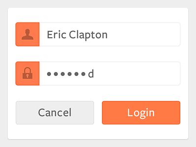 Quick Login Idea ikons login password user