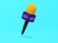 Microphone Press and Logo design