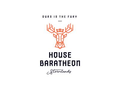 House Baratheon - Modern Logotype
