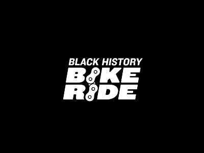 Black History Bike Ride blackart blackdesigner vector logo