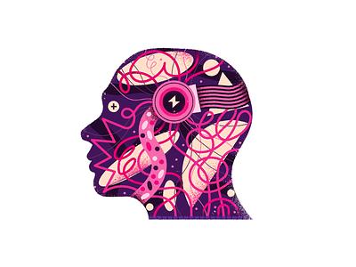 Wired texture design illustration