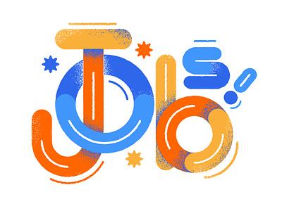 jobs type design illustration