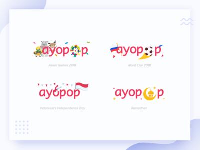 Ayopop Custom Occasion Logo