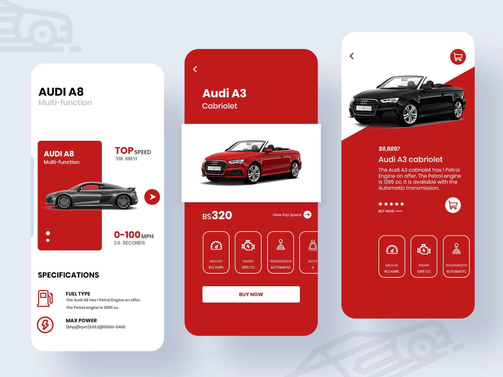 Car App Design By Uiuxmasters On Dribbble