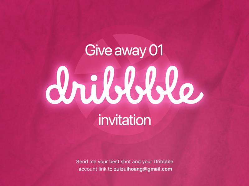 Dribbble invitation!