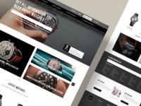 Askmewatch homepage website figma ui  ux design ux ui