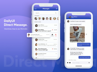 Daily UI - Direct Message