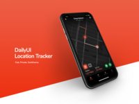 Daily UI - Location Tracker