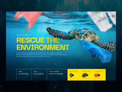 Rescue the environment design contest