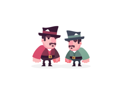 Couple o' Gangsters