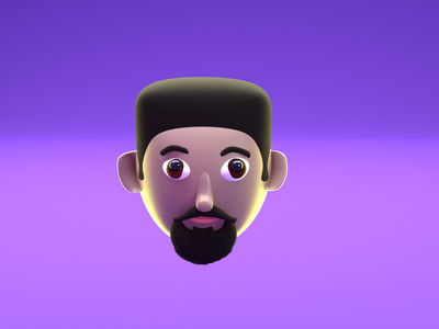 Day #10 (My 3D Character) illustration characterdesign lowpoly clay photoshop character blendercycles blender 3d blender design