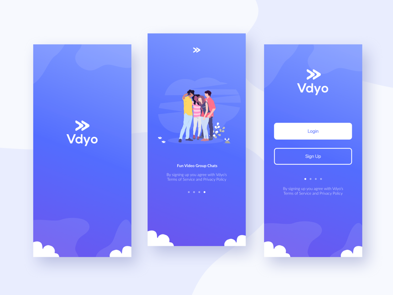 Vdyo dribbble showcase
