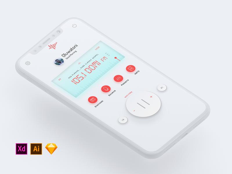 (LIGHT) Radio Concept Application Design + FREEBIES😊😊