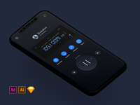 (DARK) Radio Concept Application Design + FREEBIES