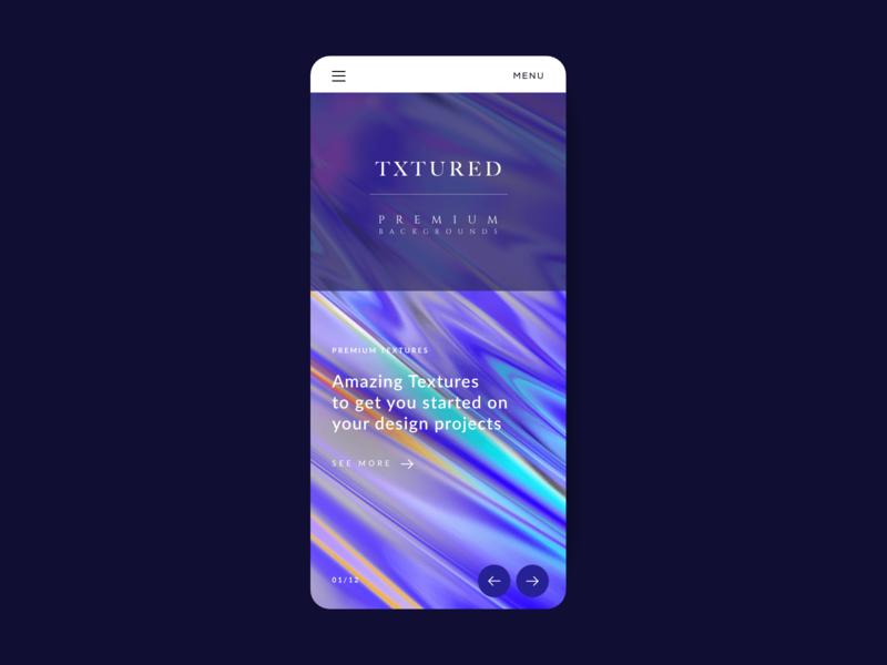 Txtured Screen Design