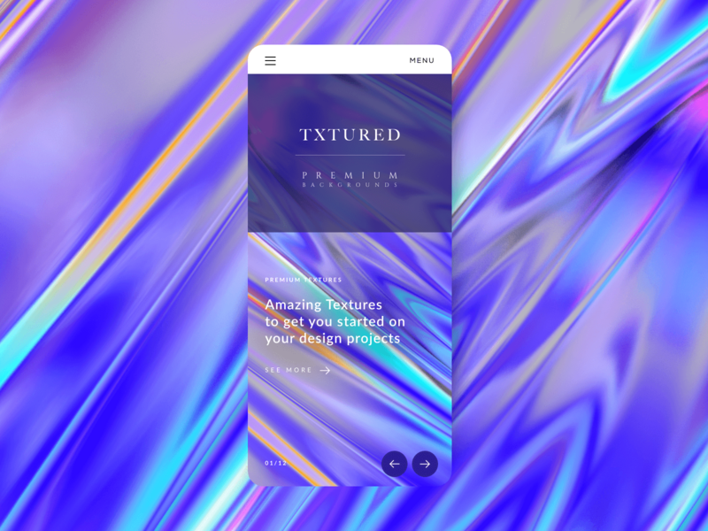 Txtured Screen Design V2