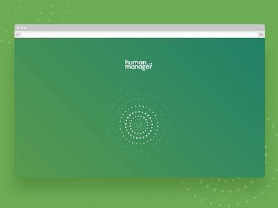 HumanManager Preloader Screen payroll vector illustration minimal interaction sketchapp app ux ui design