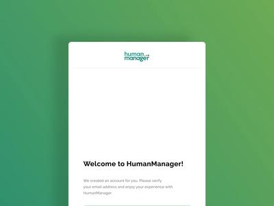 Welcome Newsletter Design