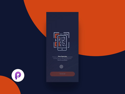 2FAUTH Showcase (Source File Included) animation branding vector dark minimal interaction app ux ui design