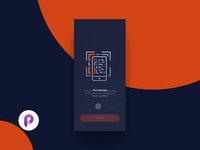 2FAUTH Showcase (Source File Included) animation branding vector dark minimal interaction app ux ui design