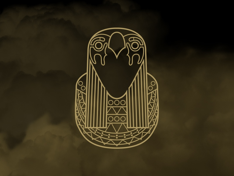 I Am A God horus clouds gold kanye west yeezus egypt chain
