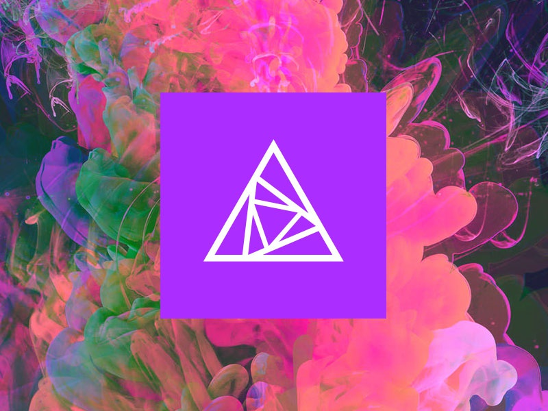 nclud.com Redesign redesign website glitch triangles blade runner techno purple nclud