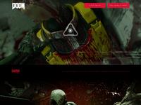 Doom beta home concept scrolled