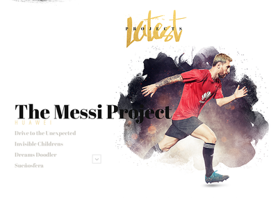 Oseguera.mx projects huawei soccer football messi soon portfolio