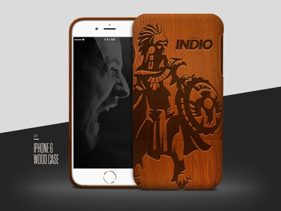 Bamboo iPhone Case Mockup free. mock up bamboo case iphone wood