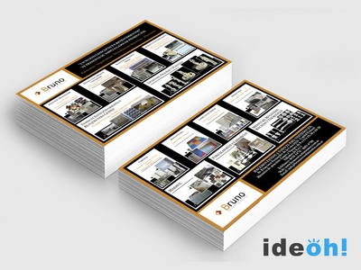 Flyer / Building emiliano negrillo ideoh advertisement business cards flyers graphic design