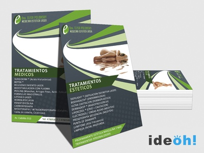 Flyer / Aesthetic emiliano negrillo ideoh advertisement business cards flyers graphic design
