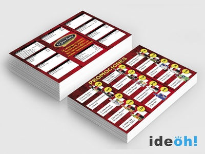 Flyer / Delivery emiliano negrillo ideoh advertisement business cards flyers graphic design
